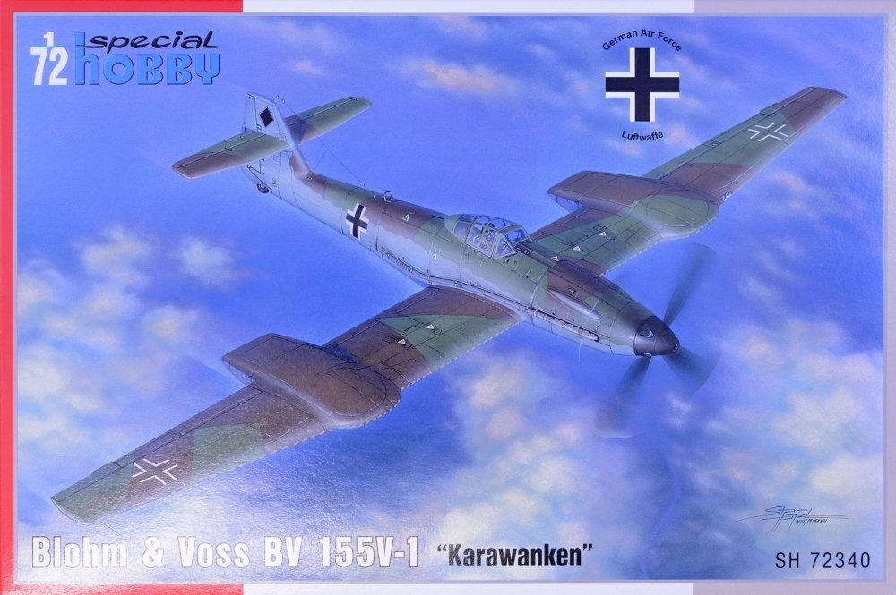 Voss BV 155V-1 in 1:72 Special Hobby 100-SH72340 Blohm u